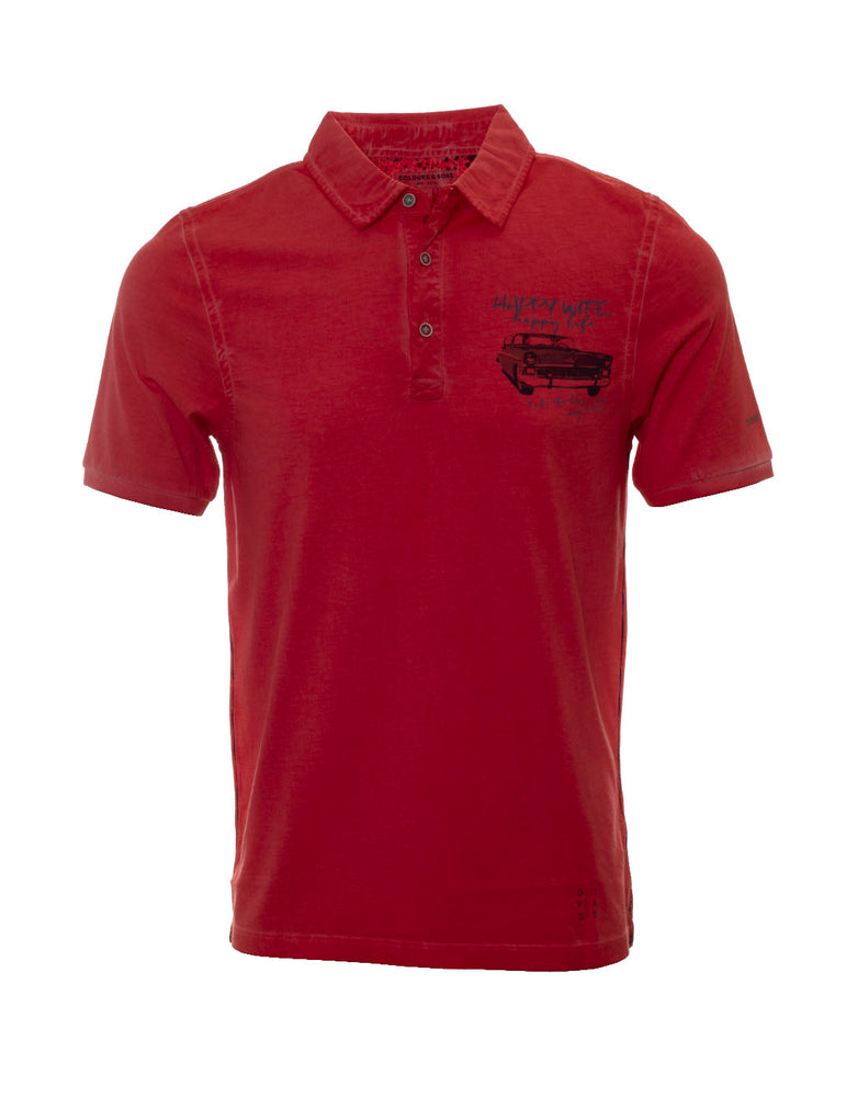 POLO COLOUR & SONS ROJO