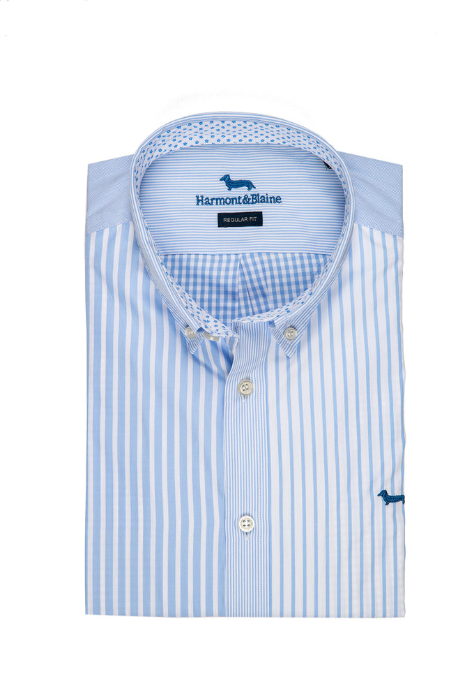 CAMISA HARMONT AND BLAINE RAYA MIXTA