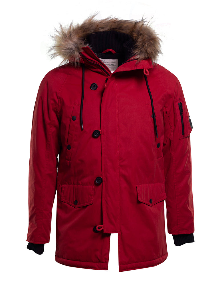 PARKA REPLAY ROJO