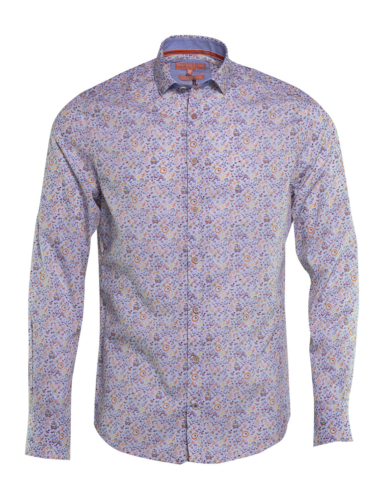 CAMISA COLOURS AND SONS ESTAMPADO SUMMER 6739