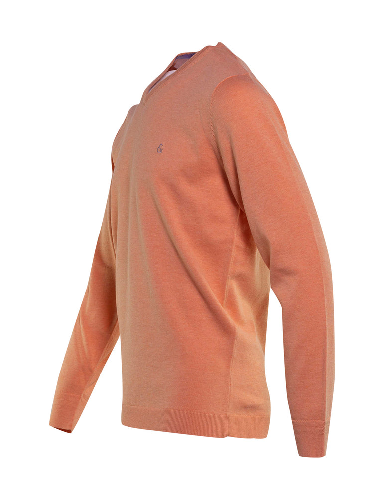 JERSEY COLOURS AND SONS CUELLO PICO NARANJA 6731