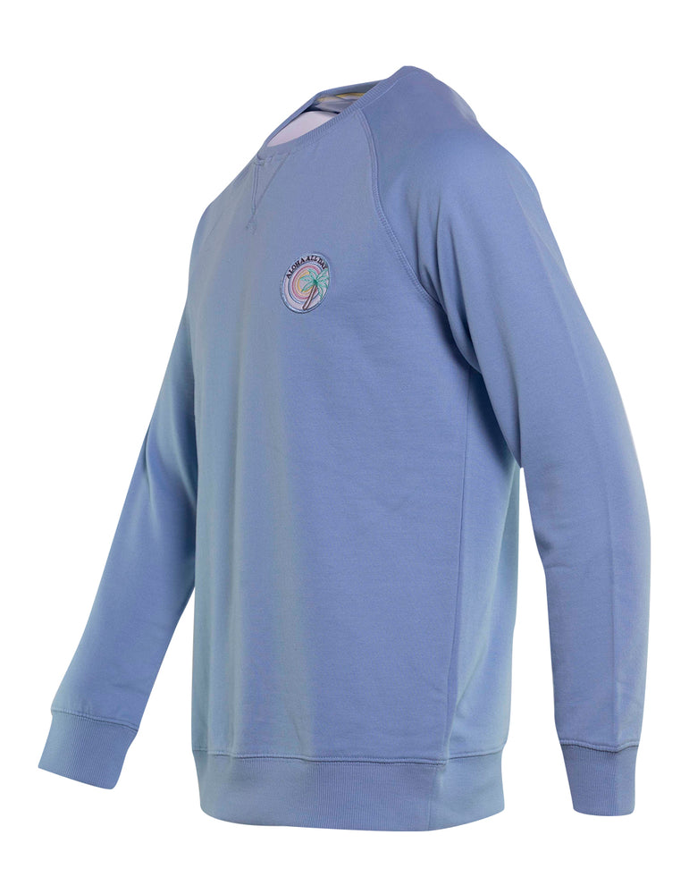 SUDADERA COLOURS AND SONS CELESTE 6744