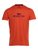 CAMISETA HARMONT& BLAINE THANK YOU NARANJA 6702