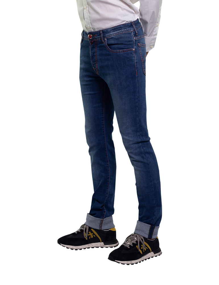 PANTALÓN JEANS JACOB COHEN J688 DENIM STR WASH3.
