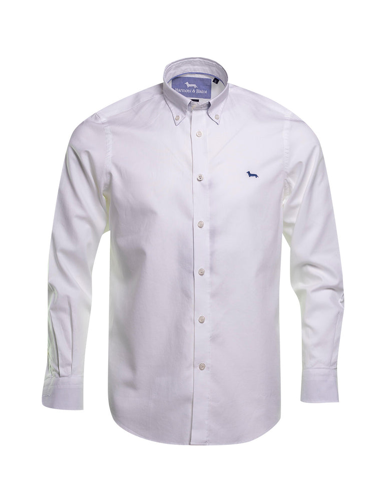 CAMISA HARMONT AND BLAINE OXFORD BLANCA