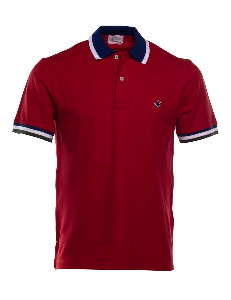 POLO BROOKSFIELD ROJO
