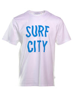 CAMISETA EDMMOND SURF BLANCO.
