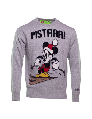 JERSEY MC2 MICKEY MOUSE PISTA GRIS
