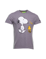 CAMISETA MC2 SNOOPY ENJOY GRIS