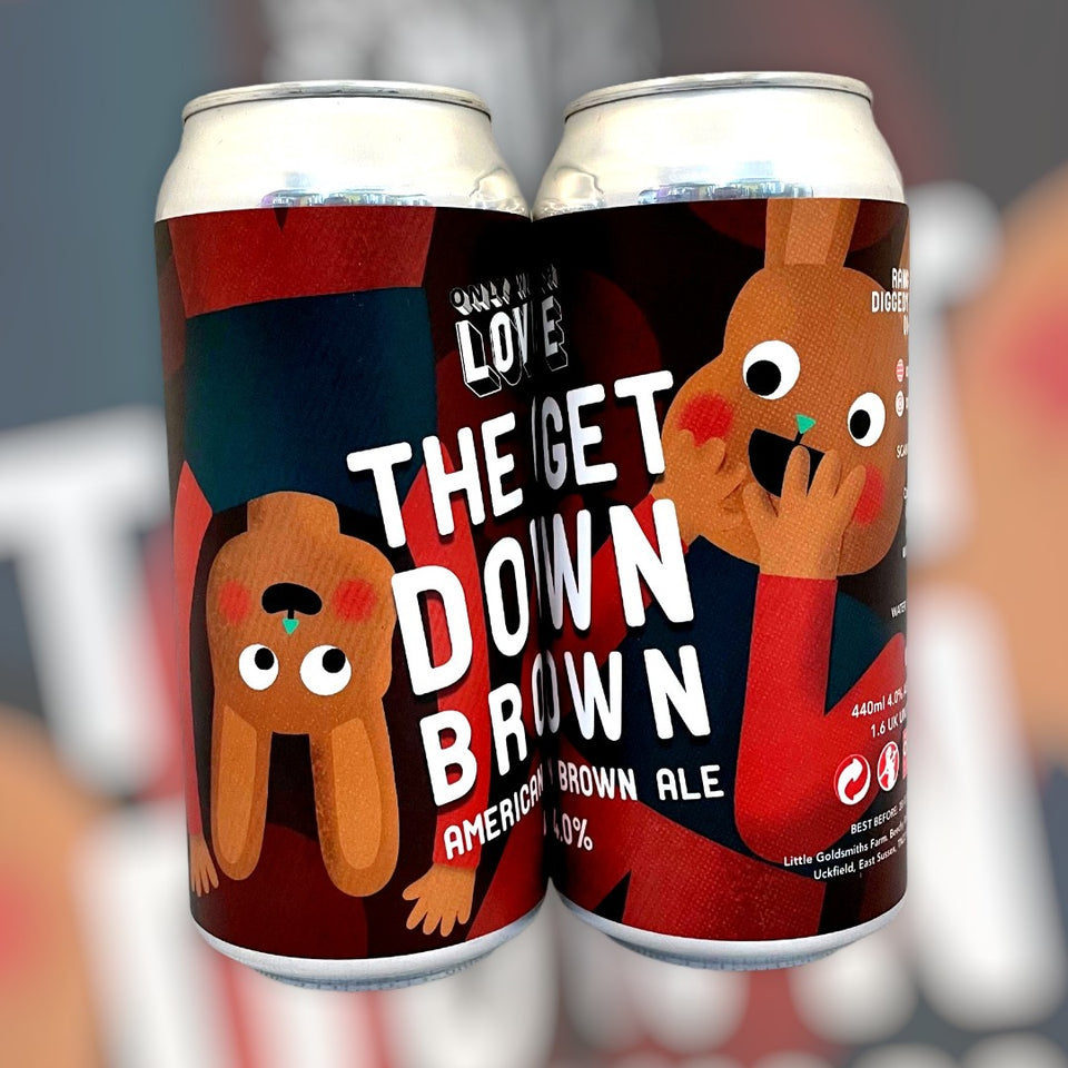 The Get Down Brown American Brown Ale x6