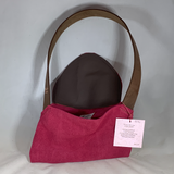 0076 Neccessey - Leather pink suede