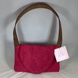 0077 Neccessey - Leather pink suede
