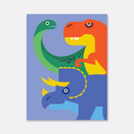 dinosaurs print for the kids room