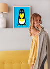 penguin print for the kids room