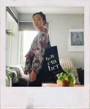 Load image into Gallery viewer, Handlenett svart // totebag black