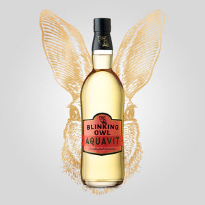 Load image into Gallery viewer, Blinking Owl Aquavit | 750ml (42.50%) | California Aquavit - Rusty Rabbit Spirits Lounge - buy alcohol online