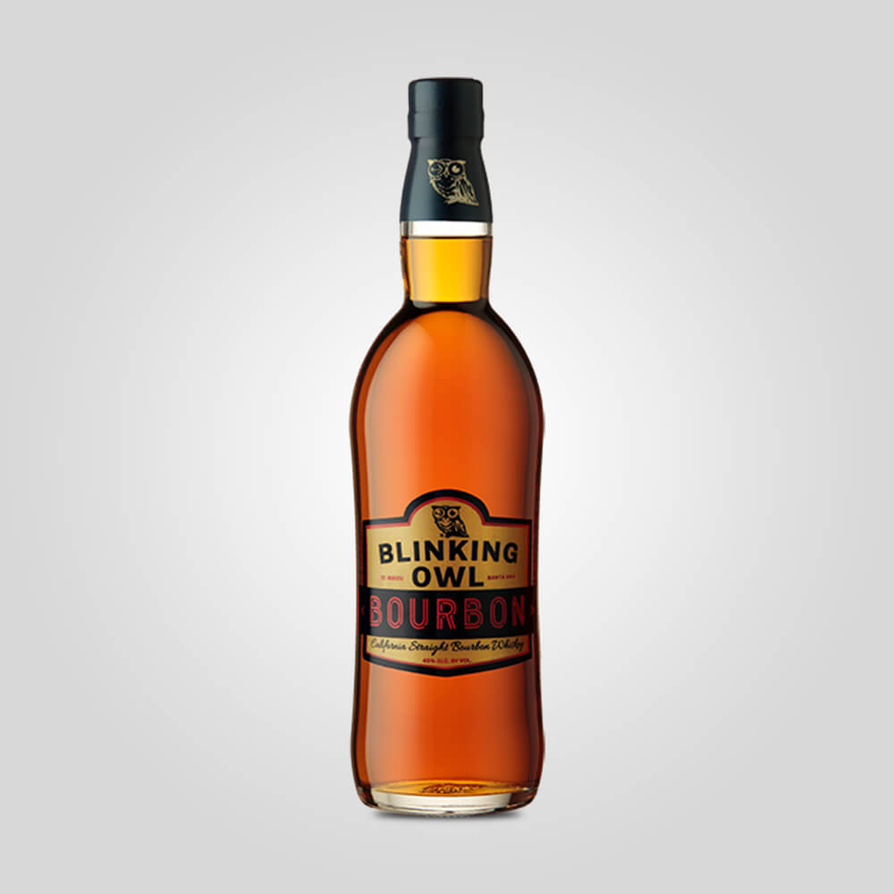Blinking Owl 4 Grain California Straight Bourbon | 750ml (45%) | California Whiskey - Rusty Rabbit Spirits Lounge - buy alcohol online
