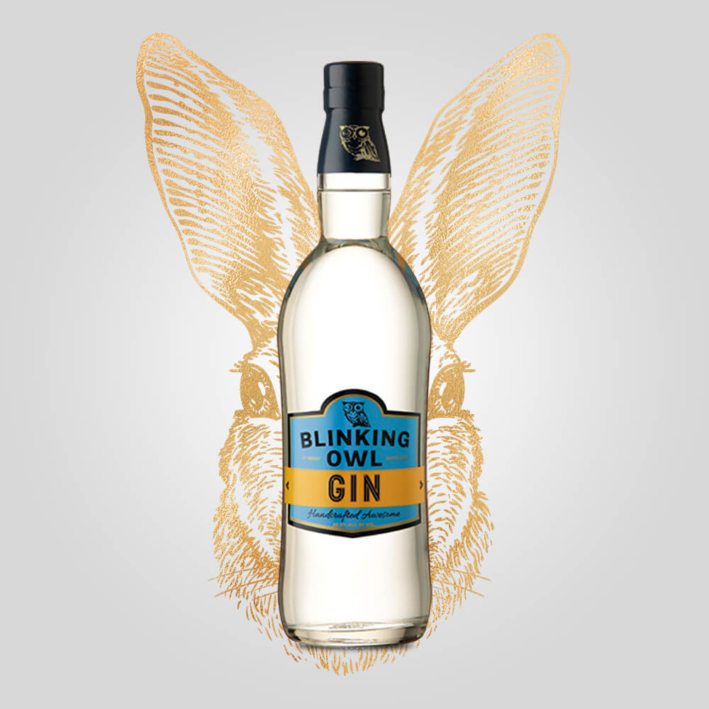 Blinking Owl Gin | 750ml (42.50%) | California Gin - Rusty Rabbit Spirits Lounge - buy alcohol online