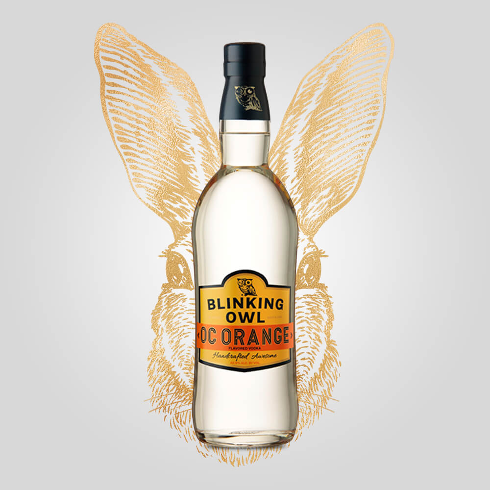 Blinking Owl OC Orange Vodka | 750ml (42.50%) | California Vodka - Rusty Rabbit Spirits Lounge - buy alcohol online