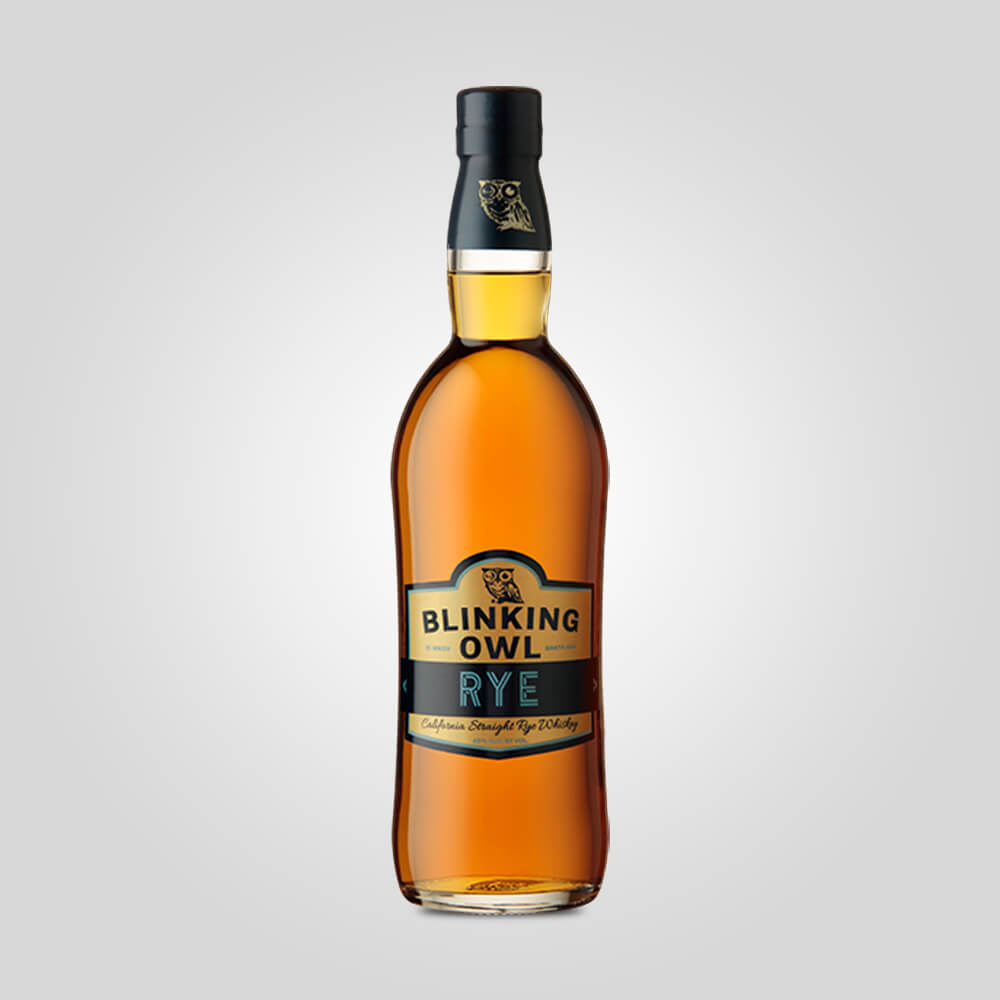 Blinking Owl California Straight Rye | 750ml (45%) | California Whiskey - Rusty Rabbit Spirits Lounge - buy alcohol online
