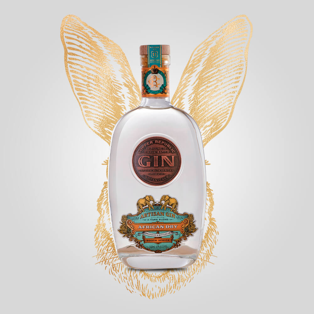 Copper Republic African Dry Gin | 750ml (43%) | South African Gin - Rusty Rabbit Spirits Lounge - buy alcohol online