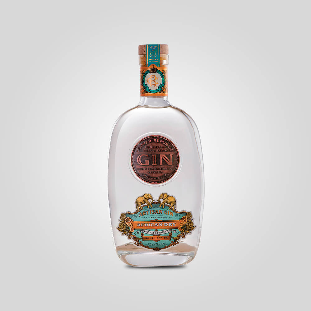 Load image into Gallery viewer, Copper Republic African Dry Gin | 750ml (43%) | South African Gin - Rusty Rabbit Spirits Lounge - buy alcohol online