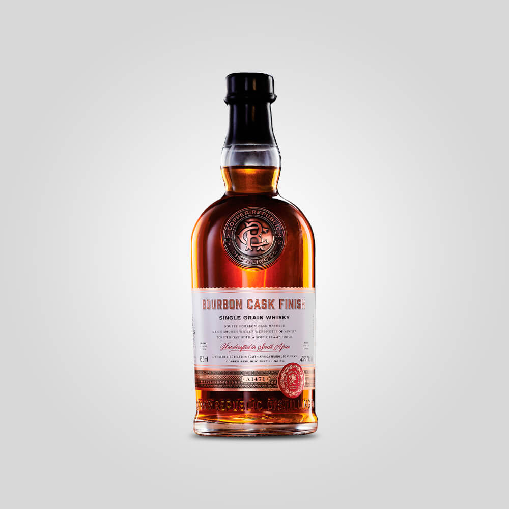 Copper Republic Single Grain Bourbon Cask Whisky | 750ml (43%) | African Spirits - Rusty Rabbit Spirits Lounge - buy alcohol online