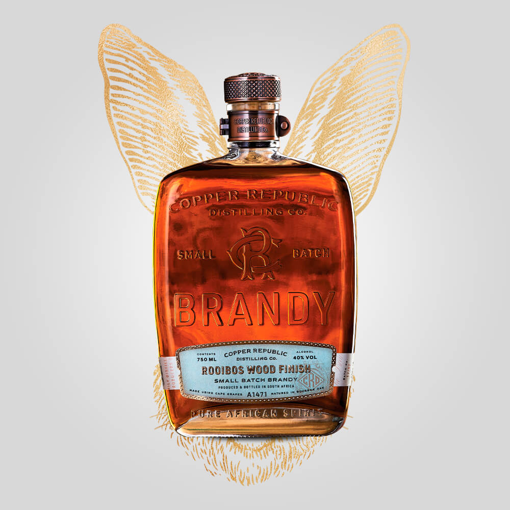Load image into Gallery viewer, Copper Republic Rooibos Wood Finish Brandy | 750ml (43%) | South African Brandy - Rusty Rabbit Spirits Lounge - buy alcohol online
