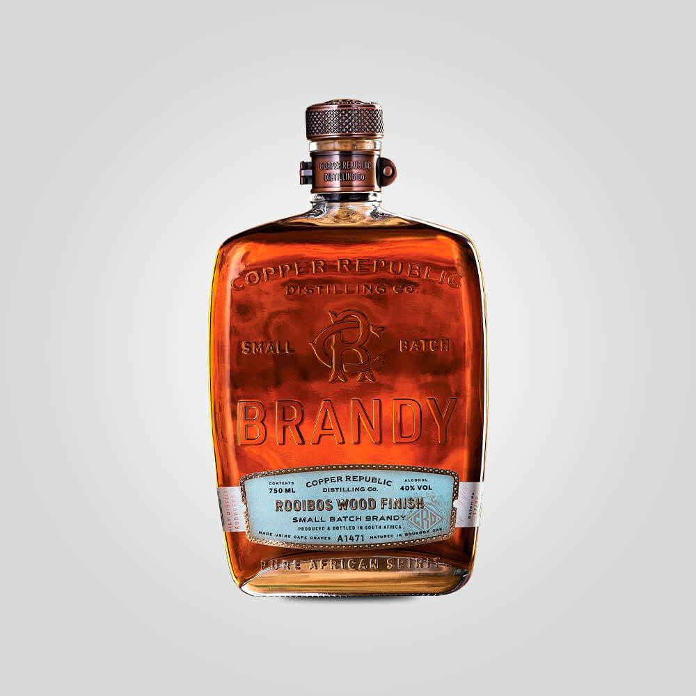 Copper Republic Rooibos Wood Finish Brandy | 750ml (43%) | South African Brandy - Rusty Rabbit Spirits Lounge - buy alcohol online