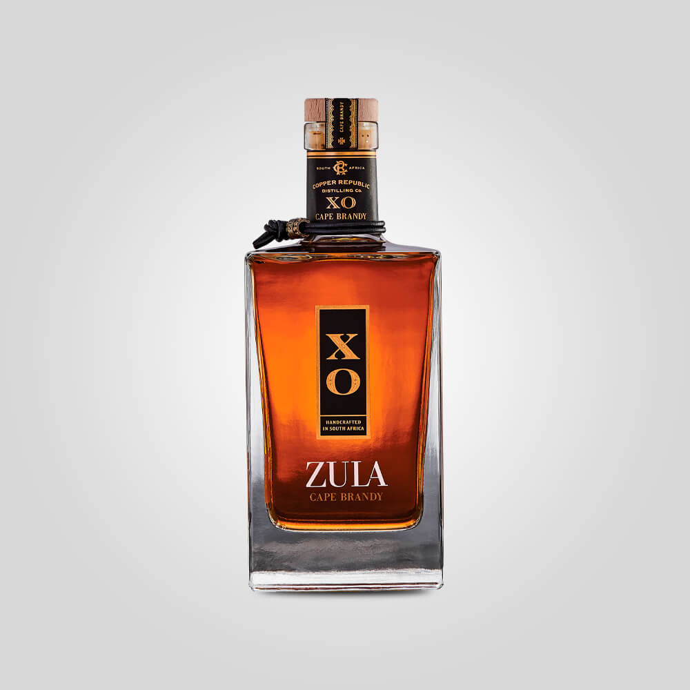 Copper Republic Zula XO Cape Brandy | 750ml (40%) | South African Brandy - Rusty Rabbit Spirits Lounge - buy alcohol online