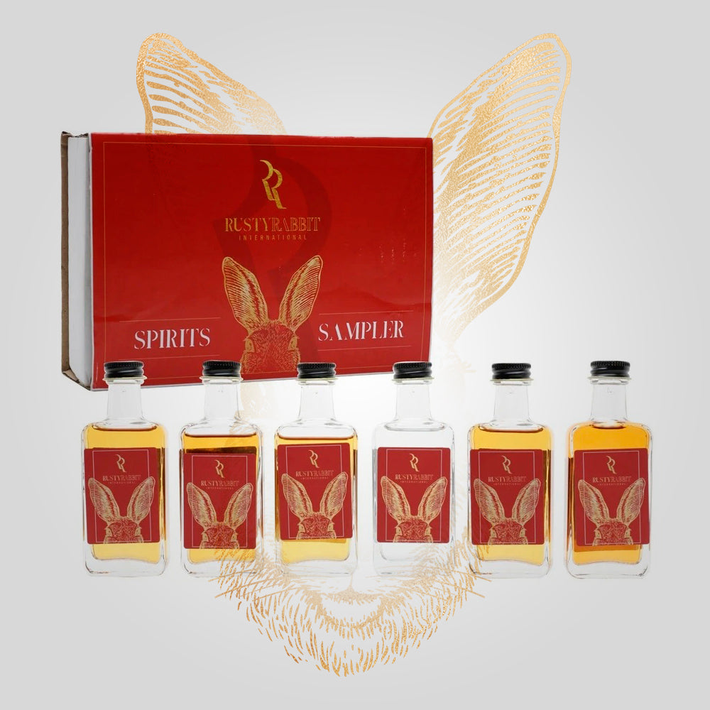 Load image into Gallery viewer, Rusty Rabbit Spirits Lounge Premium Tasting Kit | 6 x 50ml | Brand Portfolio
