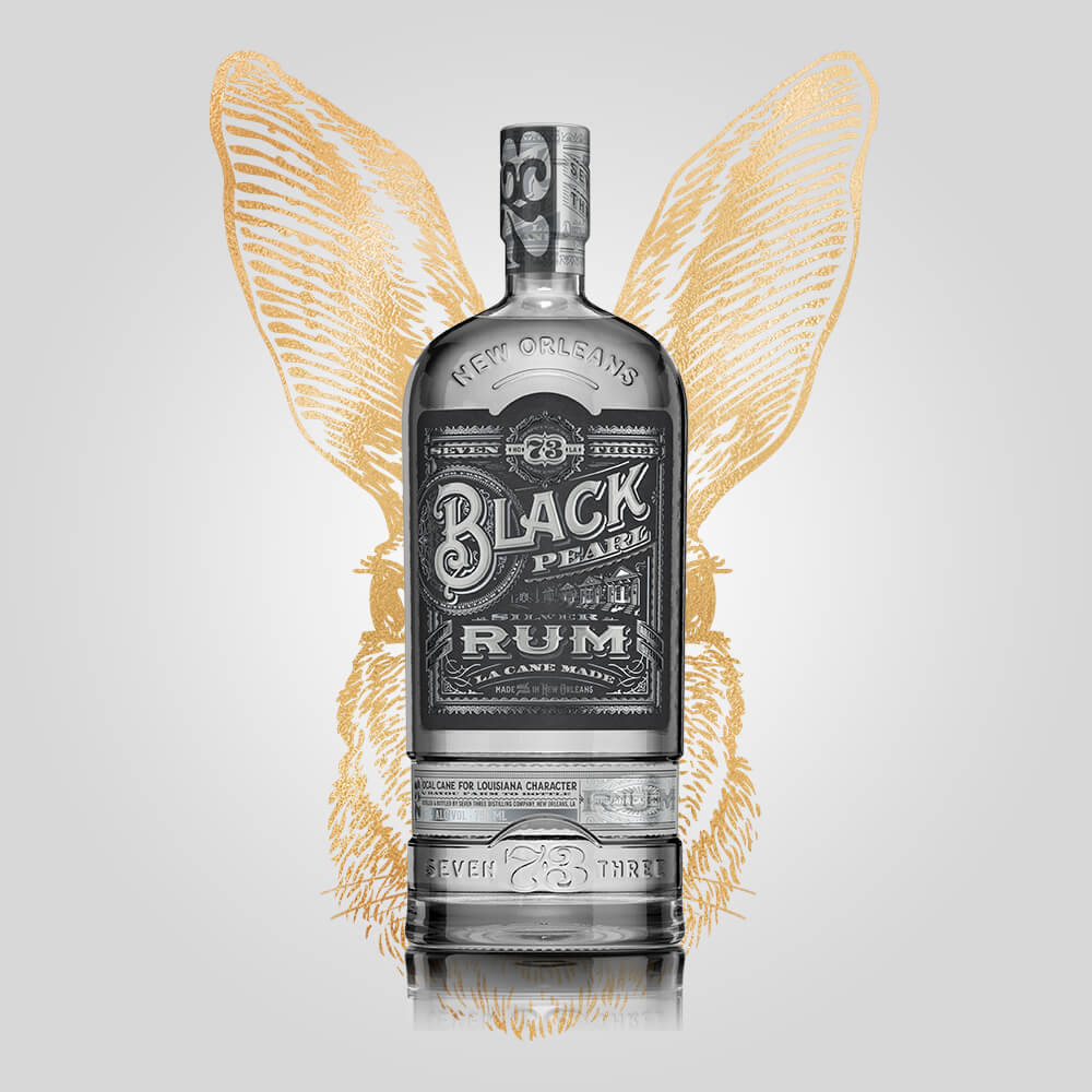 Seven Three Distilling Black Pearl Rum | 750ml	(42.50%) | New Orleans Distillery - Rusty Rabbit Spirits Lounge - buy alcohol online