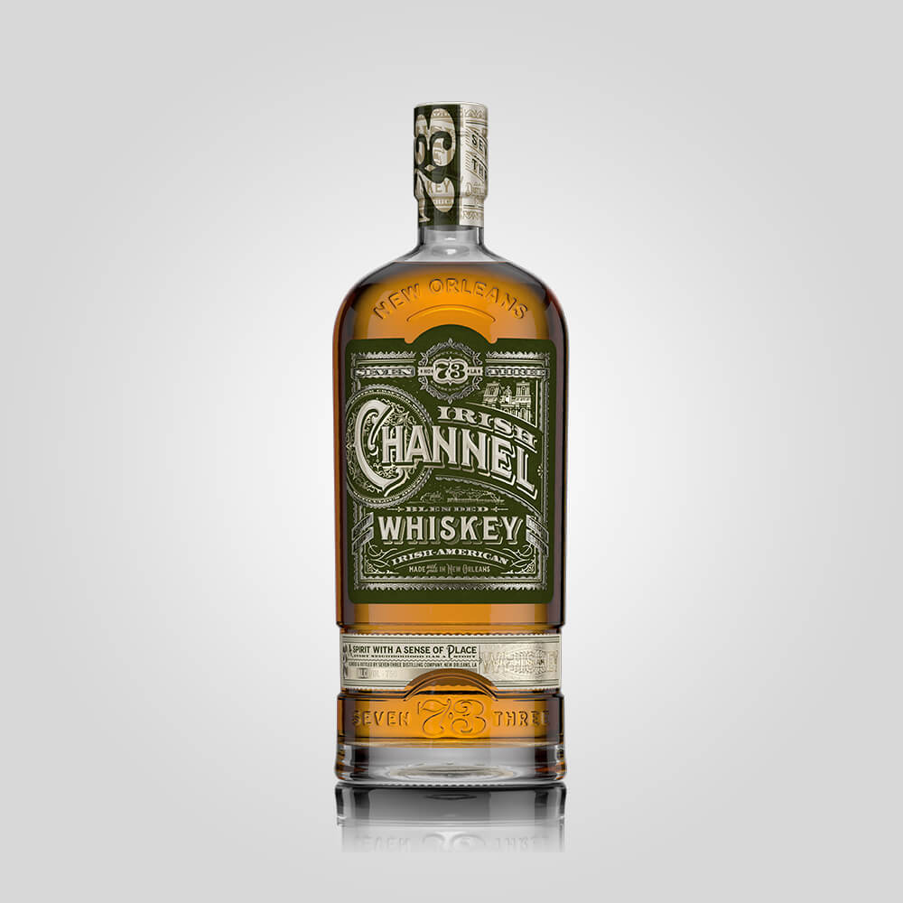 Seven Three Distilling Irish Channel Whiskey | 750ml (45%) | New Orleans Distillery - Rusty Rabbit Spirits Lounge - buy alcohol online
