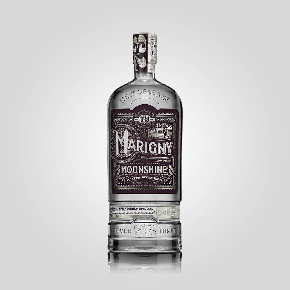 Seven Three Distilling Marigny Moonshine | 750ml (50%) | American Moonshine - Rusty Rabbit Spirits Lounge - buy alcohol online