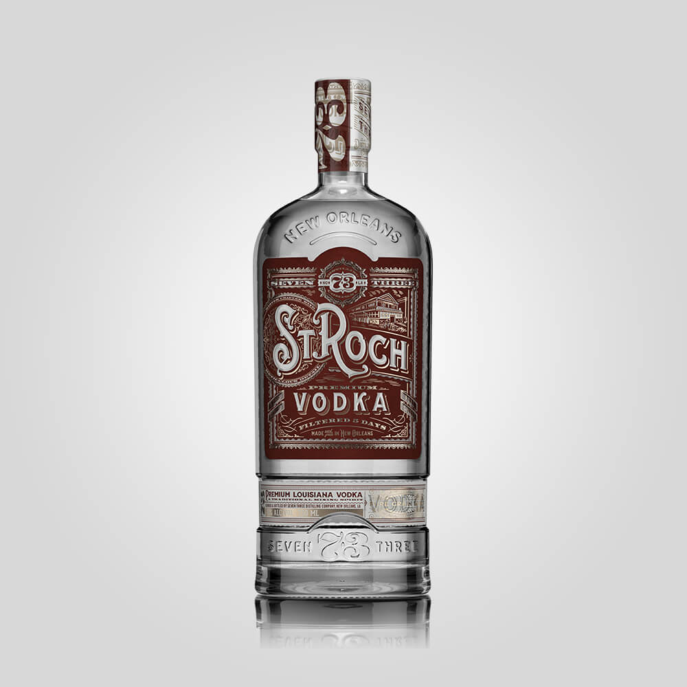 Seven Three Distilling St Roch Vodka | 750ml (40%) | New Orleans Distillery - Rusty Rabbit Spirits Lounge - buy alcohol online