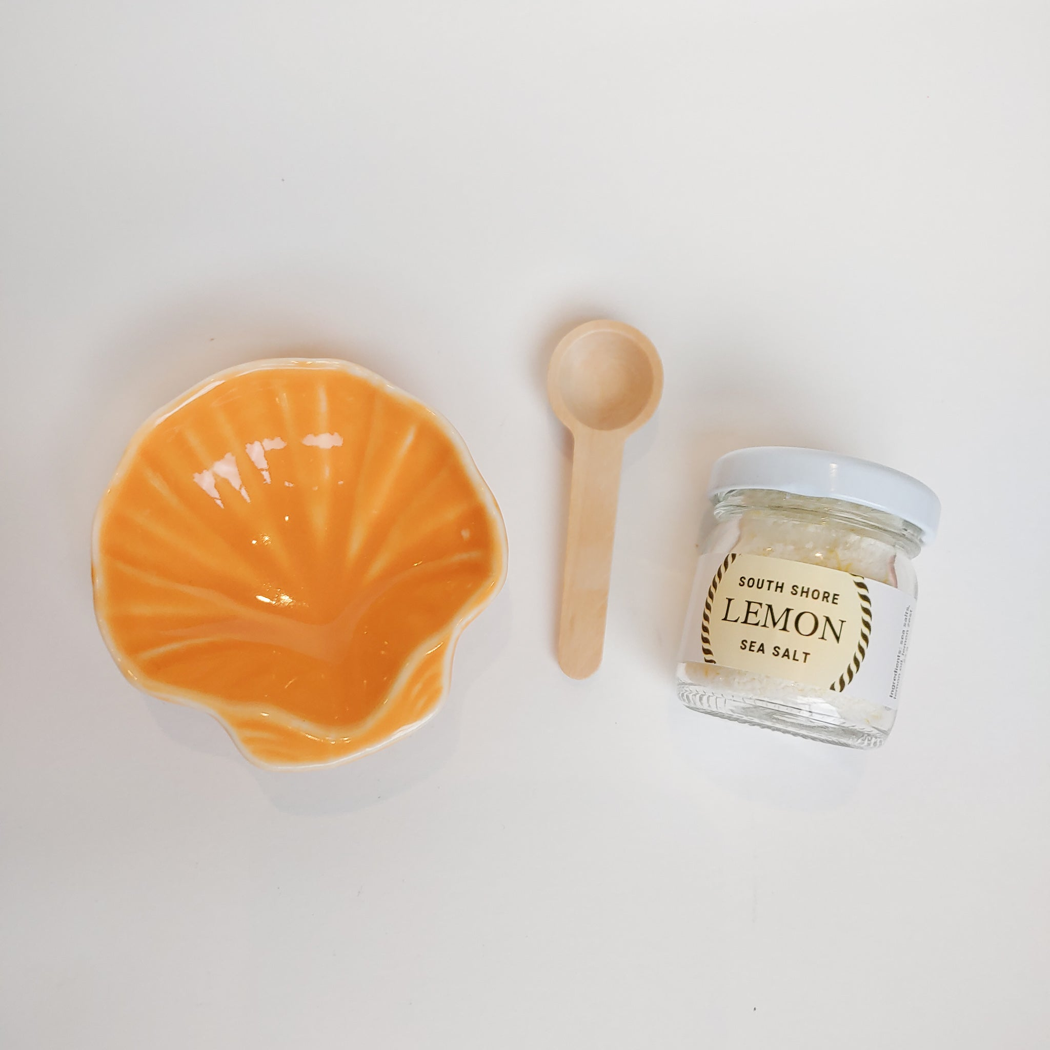 Citrus/Lemon Seashell Gift Set