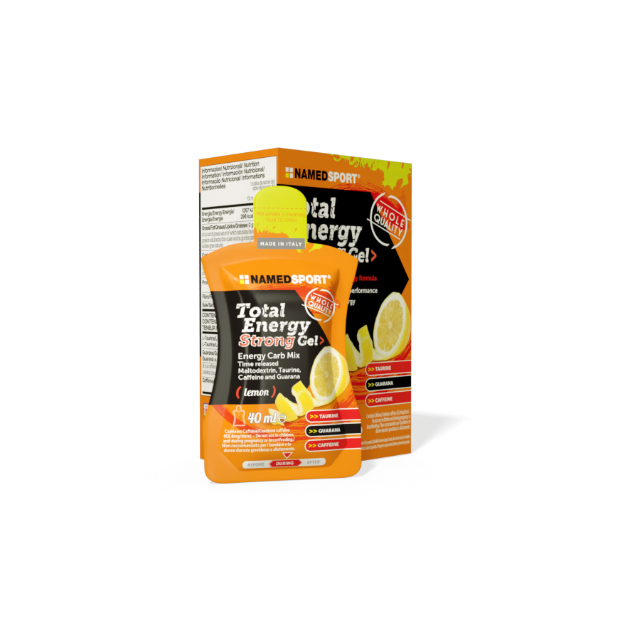 Total Energy Strong Gel Gusto Limone 40 ml