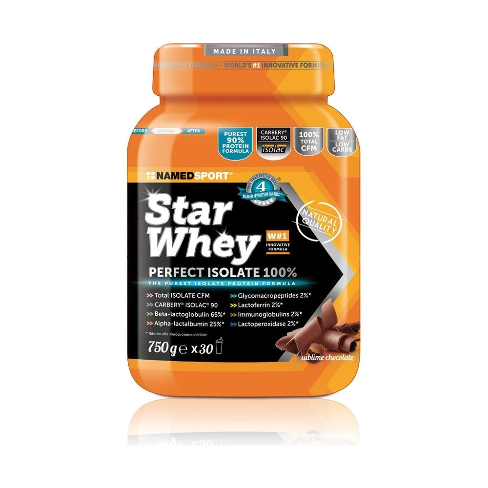 Star Whey Isolated 750 g cioccolato