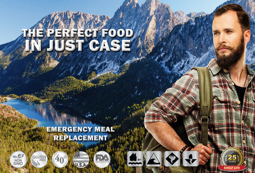Where to buy Camping food non GMO 25 year shelf-life