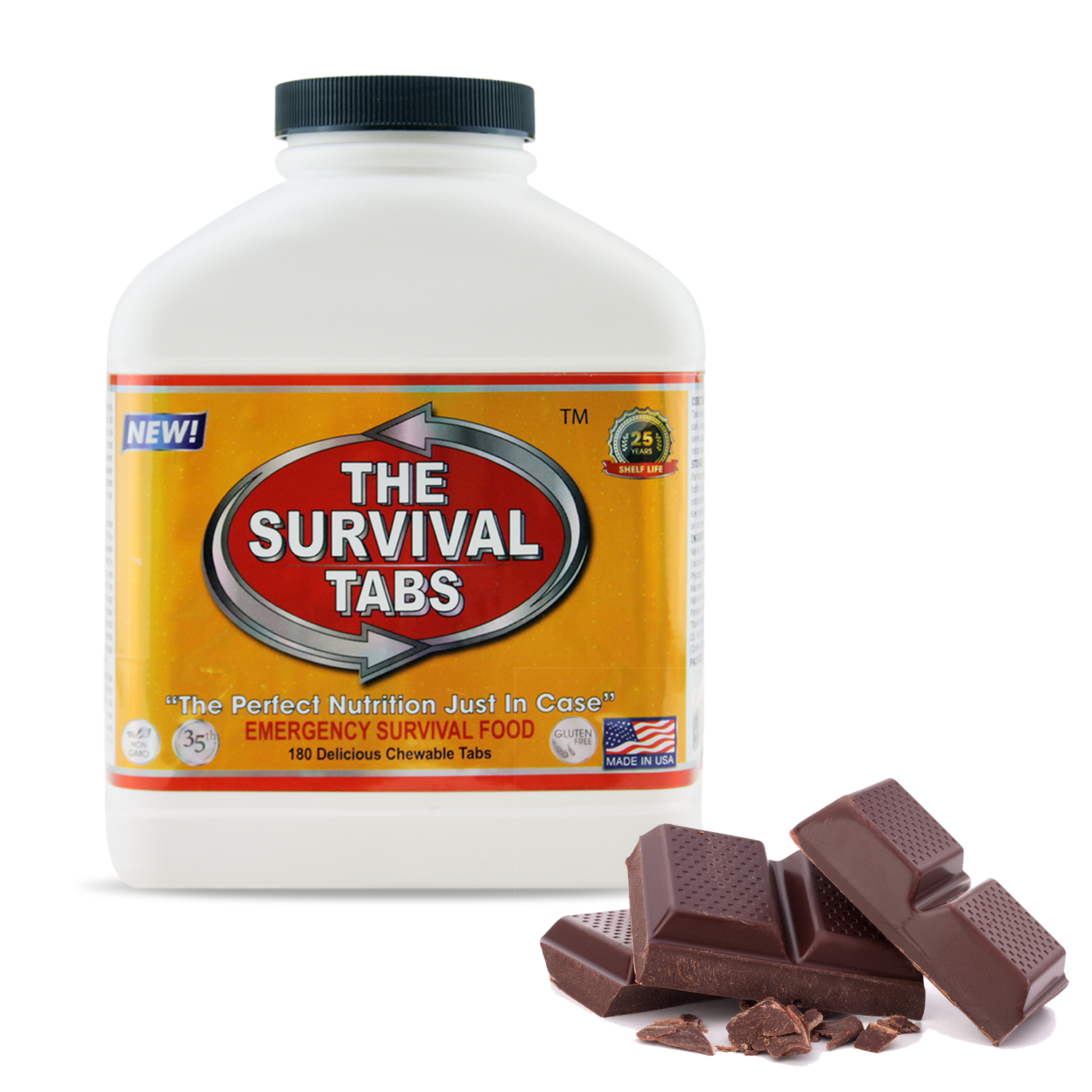 Survival Tabs 60-Day Food Supply - Mixed Flavor