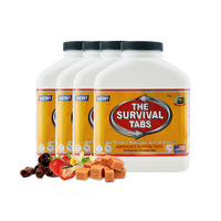 Emergency food Survival Tabs 60 Day Food Supply Mixed Flavor Gluten Free and Non GMO covid 19