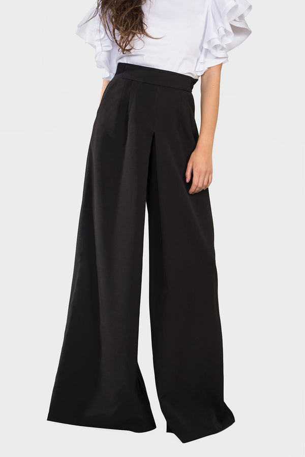 Wide Leg Pants (black)