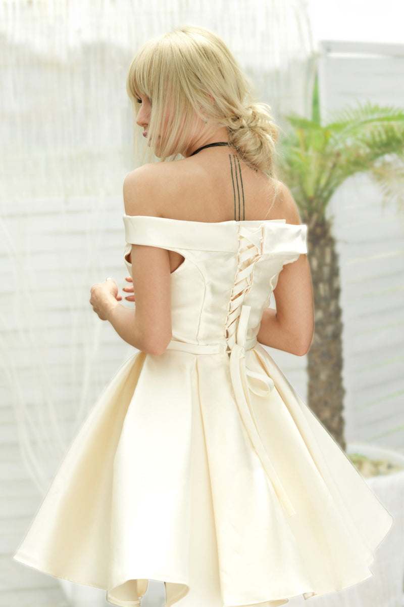 Bridesmaid Collar Dew Dress