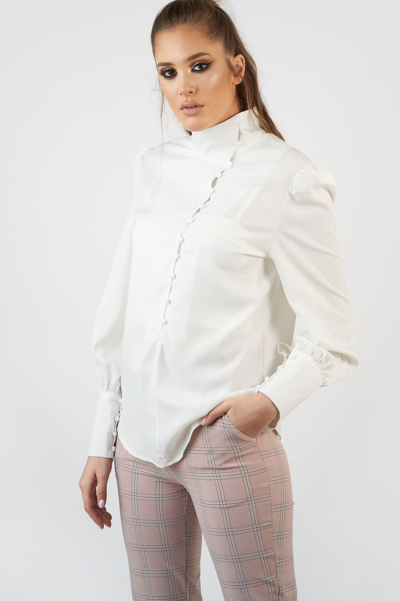 Mineko White Shirt