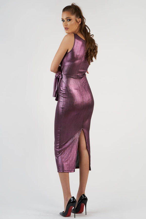Shiny Bandage Dress