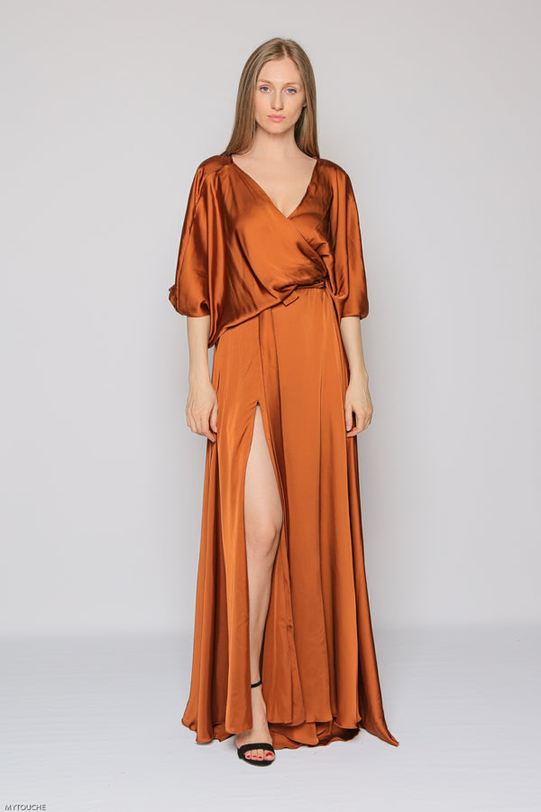 Portobello Dress (caramel)