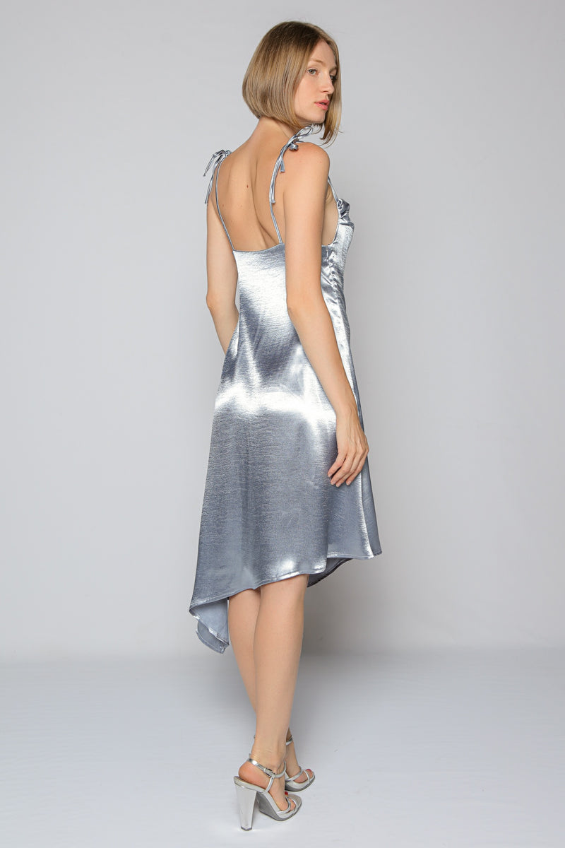 Metal Blue Dress