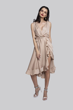 Palace Dress (beige)