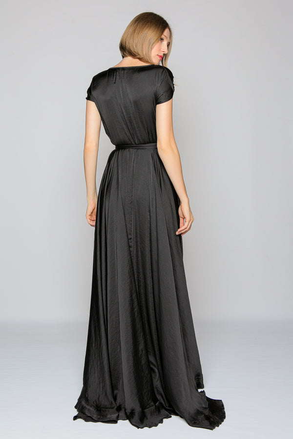 Royal Long Dress (black)