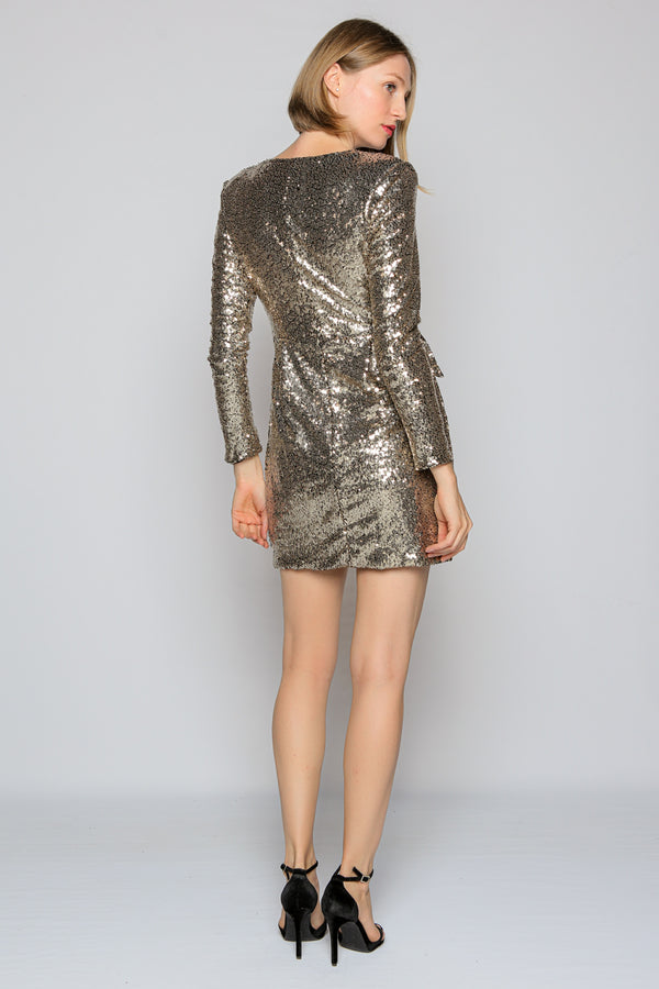 Gold Glitter Suit Jacket